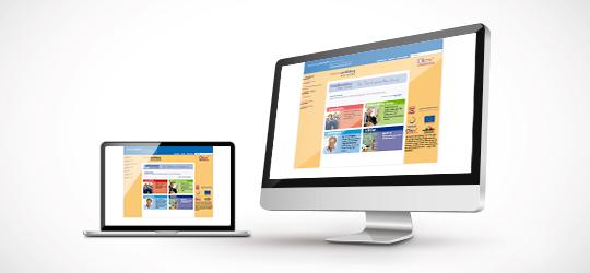 InfoPoint Ausbildung, Webauftritt